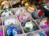 Palle di Natale al Mercatino